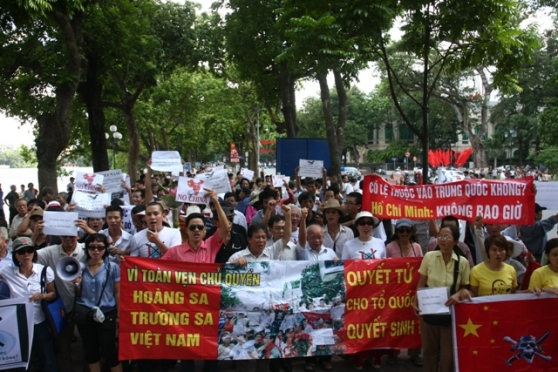 Biểu tình chống Trung Quốc tại Hà Nội